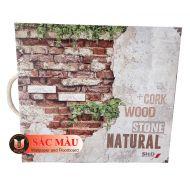 Giấy dán tường NATURAL (giả Gỗ, Đá, Gạch)
